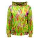 Cheerful Phantasmagoric Pattern Women s Pullover Hoodie View1