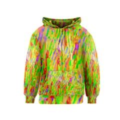 Cheerful Phantasmagoric Pattern Kids  Zipper Hoodie