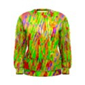 Cheerful Phantasmagoric Pattern Women s Sweatshirt View1
