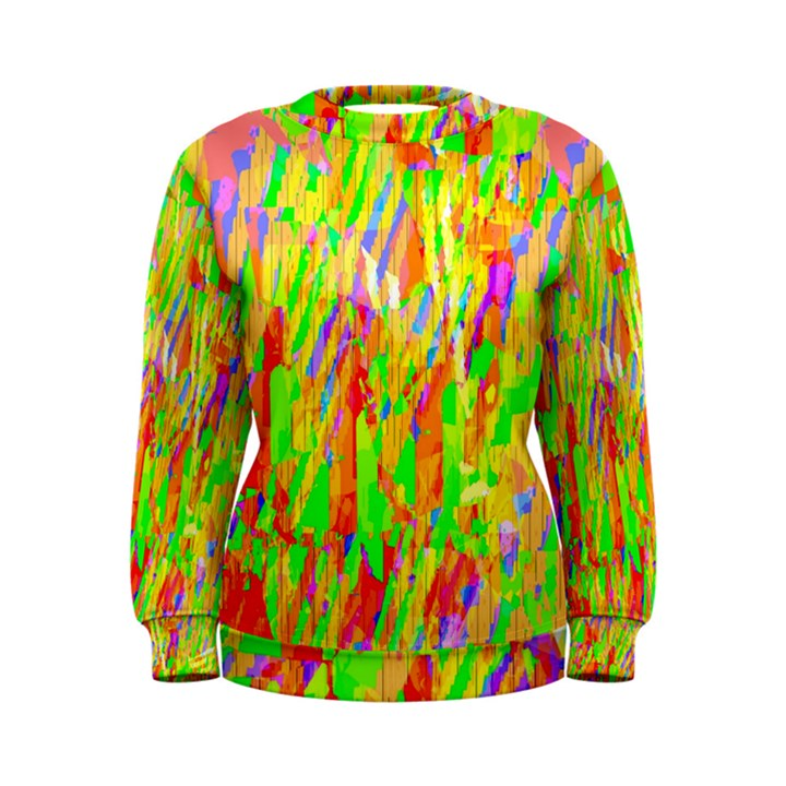 Cheerful Phantasmagoric Pattern Women s Sweatshirt