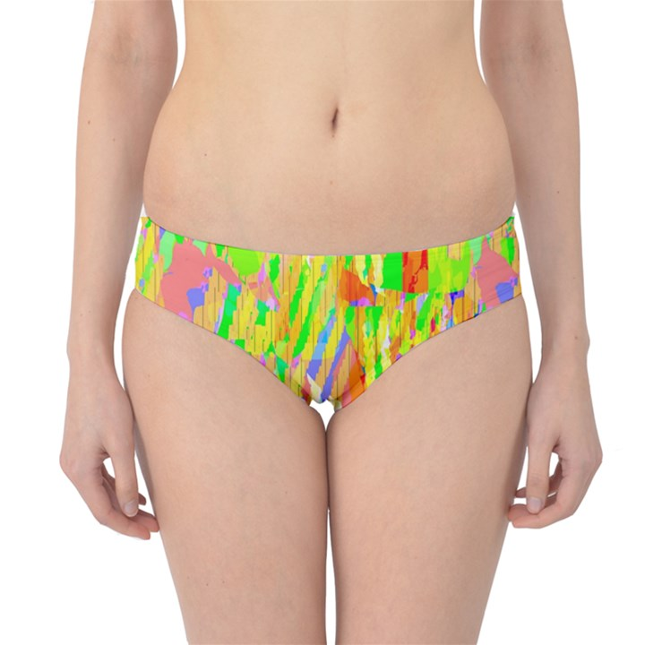 Cheerful Phantasmagoric Pattern Hipster Bikini Bottoms