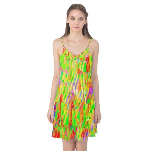 Cheerful Phantasmagoric Pattern Camis Nightgown