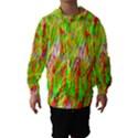 Cheerful Phantasmagoric Pattern Hooded Wind Breaker (Kids) View1