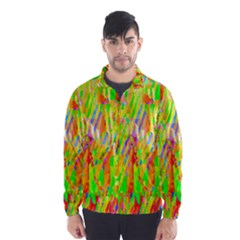 Cheerful Phantasmagoric Pattern Wind Breaker (Men)