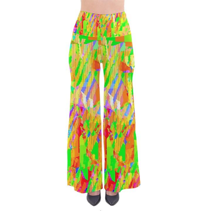 Cheerful Phantasmagoric Pattern Pants