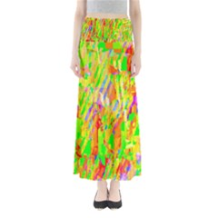 Cheerful Phantasmagoric Pattern Maxi Skirts