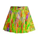 Cheerful Phantasmagoric Pattern Mini Flare Skirt View1