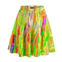 Cheerful Phantasmagoric Pattern High Waist Skirt View1