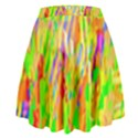 Cheerful Phantasmagoric Pattern High Waist Skirt View2