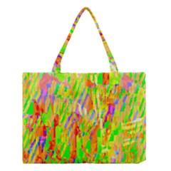 Cheerful Phantasmagoric Pattern Medium Tote Bag
