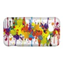 Crazy Multicolored Double Running Splashes HTC Droid Incredible 4G LTE Hardshell Case View1
