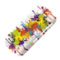 Crazy Multicolored Double Running Splashes HTC Desire S Hardshell Case View4