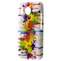 Crazy Multicolored Double Running Splashes HTC Desire HD Hardshell Case  View3