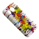 Crazy Multicolored Double Running Splashes HTC Desire HD Hardshell Case  View5