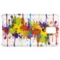 Crazy Multicolored Double Running Splashes Samsung Infuse 4G Hardshell Case  View1
