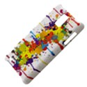 Crazy Multicolored Double Running Splashes Samsung Infuse 4G Hardshell Case  View4