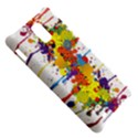 Crazy Multicolored Double Running Splashes Samsung Infuse 4G Hardshell Case  View5