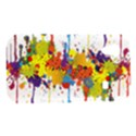 Crazy Multicolored Double Running Splashes Samsung Galaxy Ace S5830 Hardshell Case  View1