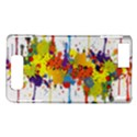 Crazy Multicolored Double Running Splashes Motorola DROID X2 View1