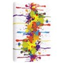 Crazy Multicolored Double Running Splashes Kindle Touch 3G View2