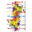 Crazy Multicolored Double Running Splashes Kindle Touch 3G View3