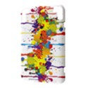 Crazy Multicolored Double Running Splashes Kindle 3 Keyboard 3G View3