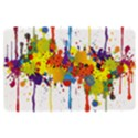 Crazy Multicolored Double Running Splashes Kindle Fire (1st Gen) Hardshell Case View1