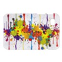 Crazy Multicolored Double Running Splashes Samsung Galaxy Tab 7  P1000 Hardshell Case  View1