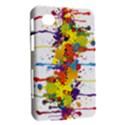 Crazy Multicolored Double Running Splashes Samsung Galaxy Tab 7  P1000 Hardshell Case  View2