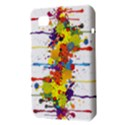 Crazy Multicolored Double Running Splashes Samsung Galaxy Tab 7  P1000 Hardshell Case  View3