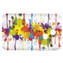 Crazy Multicolored Double Running Splashes Samsung S3350 Hardshell Case View1