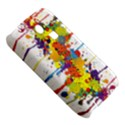 Crazy Multicolored Double Running Splashes Samsung S3350 Hardshell Case View5