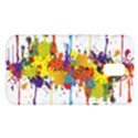 Crazy Multicolored Double Running Splashes Samsung Galaxy S II Skyrocket Hardshell Case View1