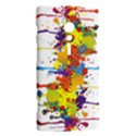 Crazy Multicolored Double Running Splashes Sony Xperia ion View2