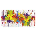 Crazy Multicolored Double Running Splashes Apple iPhone 5 Hardshell Case View1