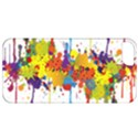 Crazy Multicolored Double Running Splashes Apple iPhone 5 Classic Hardshell Case View1