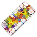 Crazy Multicolored Double Running Splashes Apple iPhone 5 Classic Hardshell Case View4