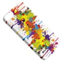Crazy Multicolored Double Running Splashes Apple iPhone 5 Classic Hardshell Case View5