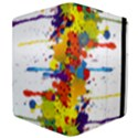 Crazy Multicolored Double Running Splashes Apple iPad 3/4 Flip Case View4