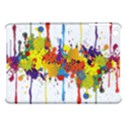Crazy Multicolored Double Running Splashes Apple iPad Mini Hardshell Case View1