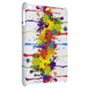 Crazy Multicolored Double Running Splashes Apple iPad Mini Hardshell Case View2