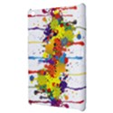 Crazy Multicolored Double Running Splashes Apple iPad Mini Hardshell Case View3