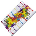 Crazy Multicolored Double Running Splashes Apple iPad Mini Hardshell Case View4