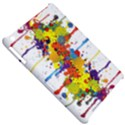 Crazy Multicolored Double Running Splashes Apple iPad Mini Hardshell Case View5