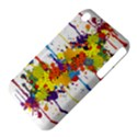 Crazy Multicolored Double Running Splashes Apple iPhone 3G/3GS Hardshell Case (PC+Silicone) View4
