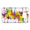 Crazy Multicolored Double Running Splashes Samsung Galaxy S II i9100 Hardshell Case (PC+Silicone) View1