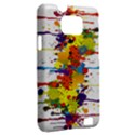 Crazy Multicolored Double Running Splashes Samsung Galaxy S II i9100 Hardshell Case (PC+Silicone) View2