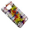 Crazy Multicolored Double Running Splashes Samsung Galaxy S II i9100 Hardshell Case (PC+Silicone) View5