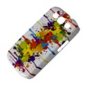 Crazy Multicolored Double Running Splashes Samsung Galaxy S III Classic Hardshell Case (PC+Silicone) View4