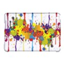 Crazy Multicolored Double Running Splashes Apple iPad Mini Hardshell Case (Compatible with Smart Cover) View1